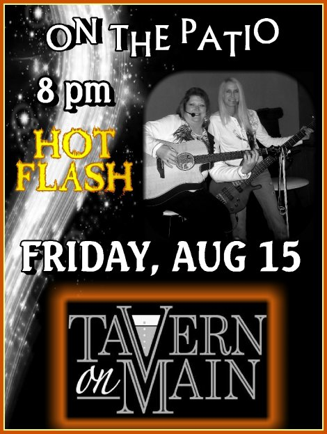 Hot Flash 8-15-14