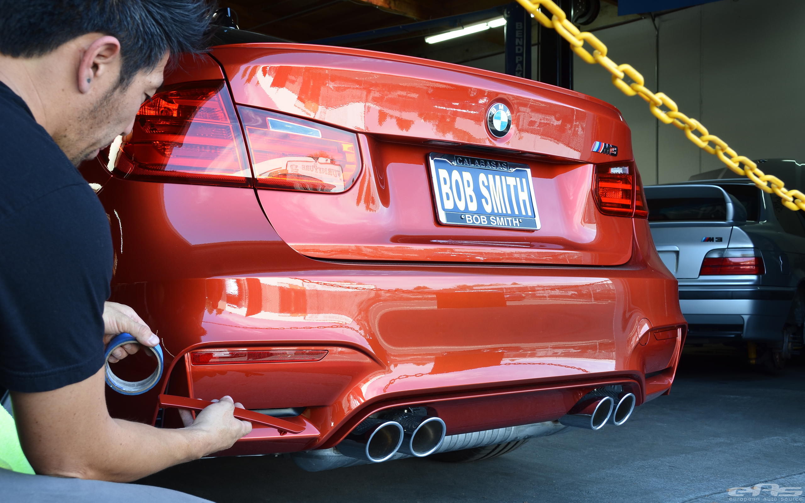 Sakhir Orange F80 M3 | BMW Performance Parts & Services