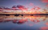 Sunrise Reflections on Lake Macquarie