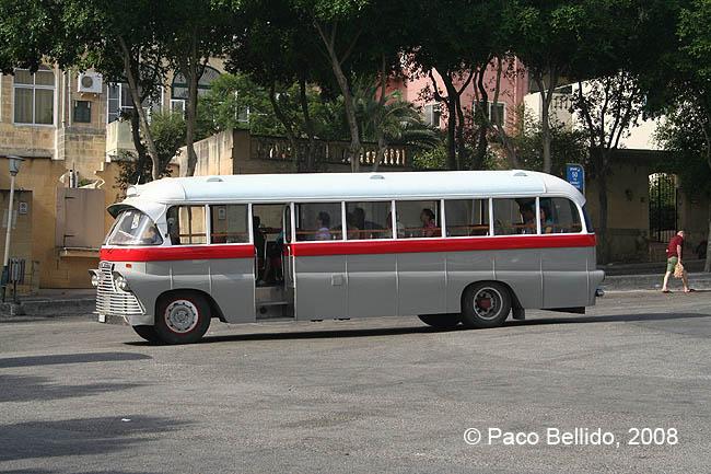 Autobús gozitano. © Paco Bellido, 2008
