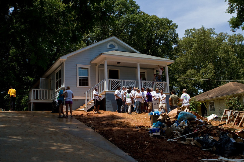Habitat Atlanta House July 2014