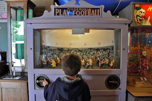 Spring Lake Penny Arcade - Burrillville RI - Football Game