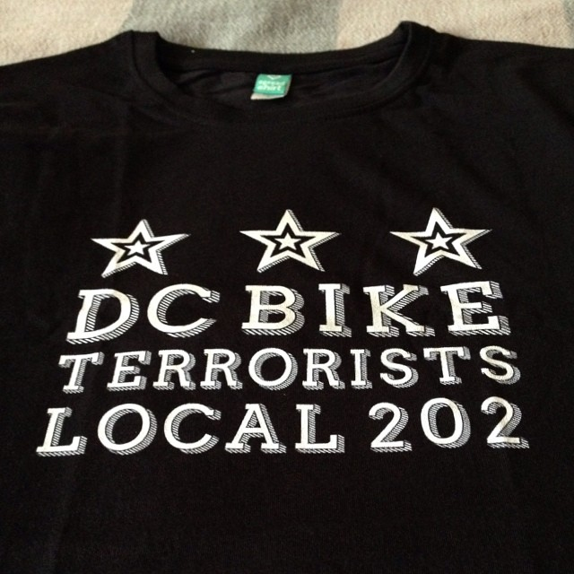 Look what came in the mail #bikedc #biketerrorist #insufferable