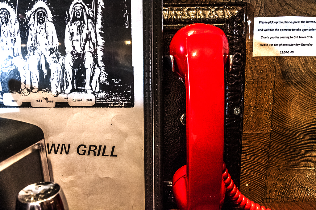 Red-phone-at-Old-Town-Grill--Wolf-Point