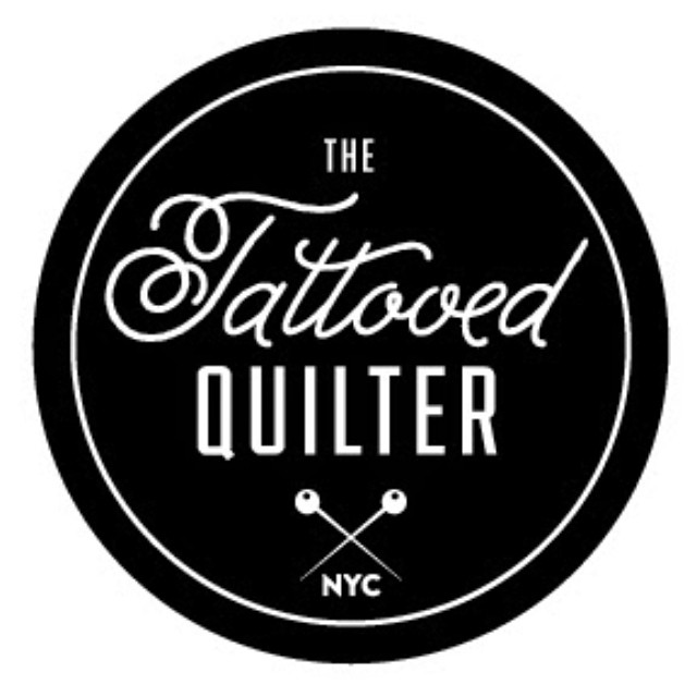 """Today on """"emailing with the tattooed quilter"""" is me! To read my interview hop over to @nyc_christopher 's blog. (Links in profiles)"""