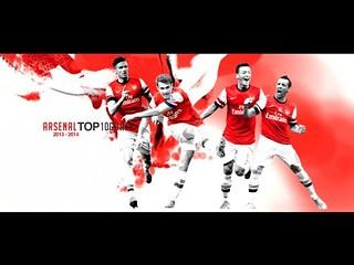 どれもビューティフル!アーセナル、2013-14シーズンのスーパーゴール10選
