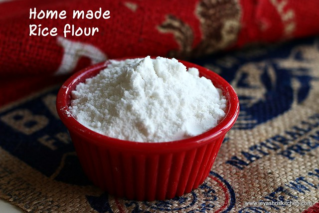 Home made- rice flour