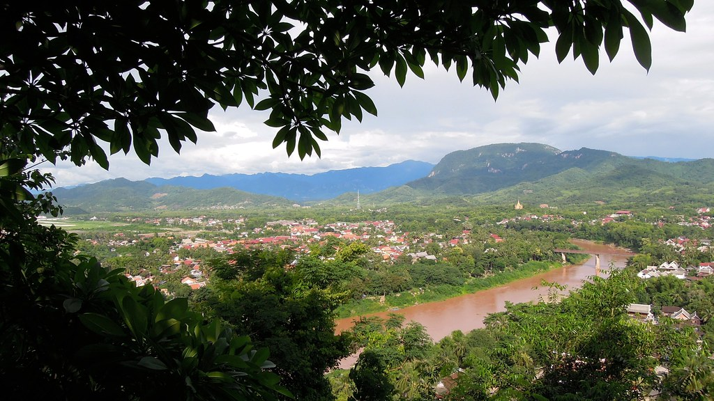 Luang Prabang from Mt Phou Si, Laos