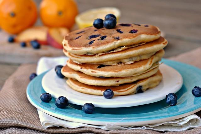 Lemon Blueberry Pancakes 3