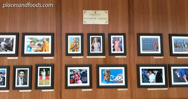 intercontinental hua hin gallery of legends