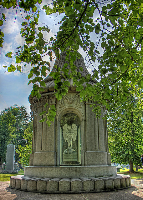 Forest Park Cemetery: ...A Monument Out of Repentance and Sorrow