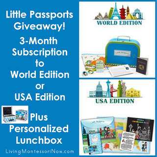 Little Passports Back-to-School Giveaway