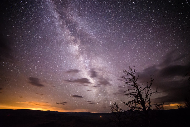 Milky Way from Wyoming Infrared Observatory