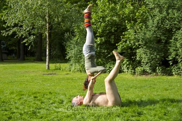 acro-yoga 0003 Tiergarten, Berlin, Germany