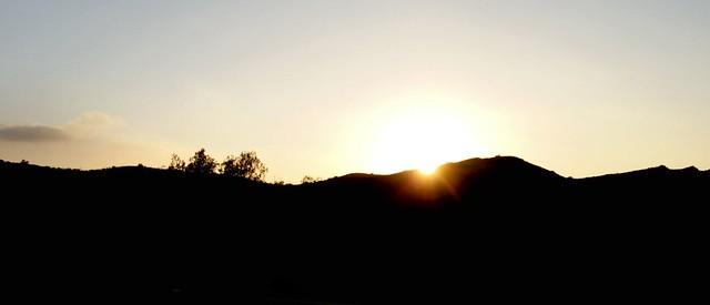 Sunset at Baker Canyon