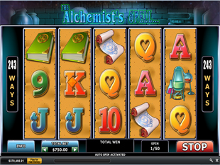 The Alchemists Spell™ Slot Machine Game to Play Free in Playtechs Online Casinos