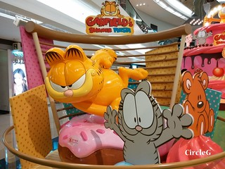 CIRCLEG 住在月亮的外星兔 中秋做乜好 加菲貓 放鬆一下立體相館 3D 相館 (16)