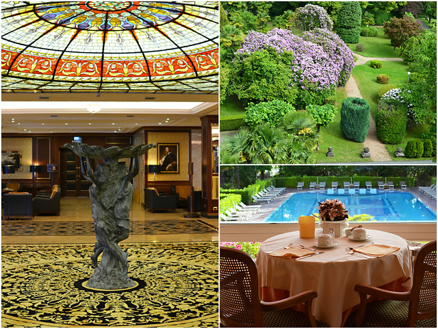 Montage 3, Hotel Simplon, Baveno, Lake Maggiore, Italy