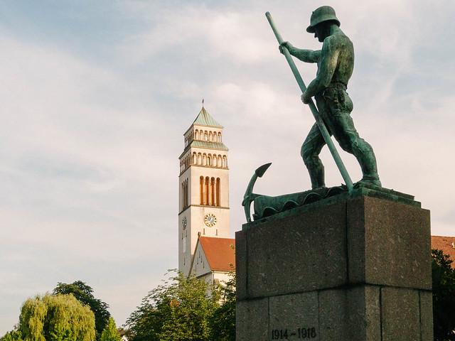 Monumento a los caídos - Kehl