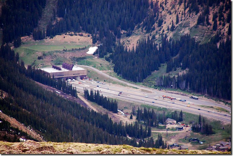 the Eisenhower Tunnel