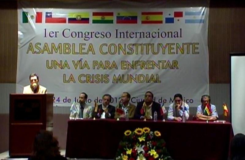 Conclusiones 1er Congreso Internacional: Asamblea Constituyente, una vía para enfrentar la crisis mundial
