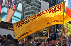 People's Climate March, Sept 21 NYC
