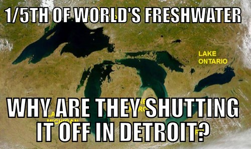 Detroit Water Crisis – a Prelude to the Privatization of Water