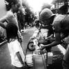 Penjual bakso keliling #streetphotography #bw_indonesia #bnw_captures #ig_indonesia_bnw #htconem8
