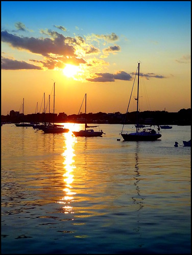 sunset newyork brooklyn image sheepsheadbay dmitriyfomenko sam62014