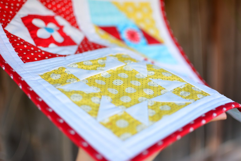 Farmer's Wife Mini Quilt
