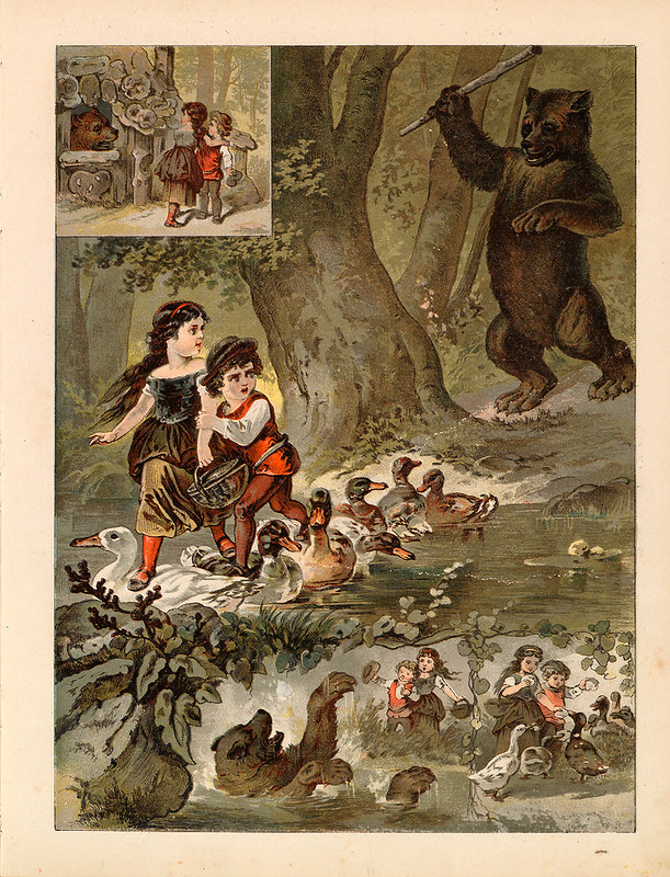 008-La casa de pan de jengibre-Aardige sprookjes- Nationale bibliotheek van Neederland