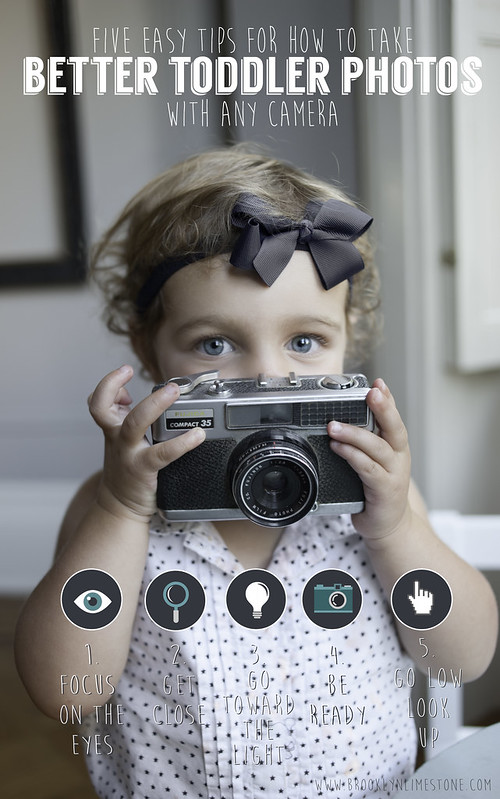 Tips for Better Toddler Photos