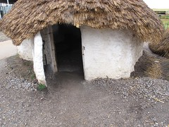 Neolithic House 1 - doorway