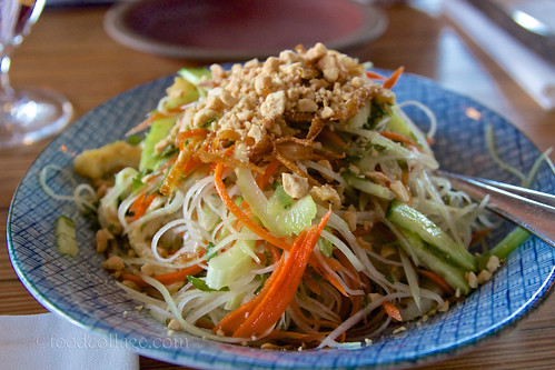 Green Papaya Salad at The Slanted Door (San Francisco)