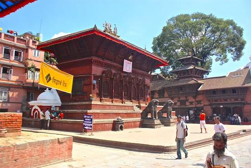 Kathmandu architecture in Durbar Square