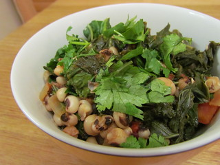 Nigerian Black-Eyed Peas and Greens