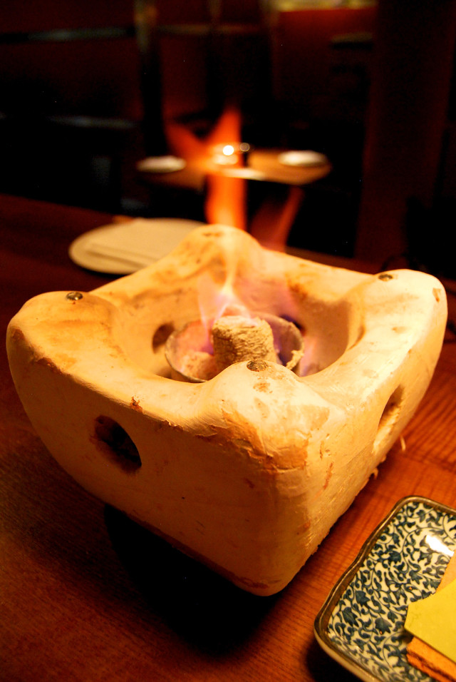 Tabletop S'mores Burner, Flesh & Buns, Covent Garden