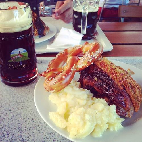 Pranzo @ Andechs, Baviera