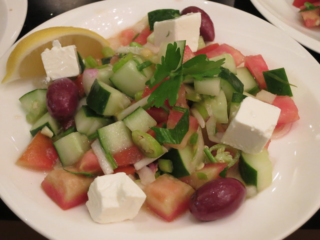 IMG_1041: Turkish Shepherd's Salad at Shangri-La Hotel Makati
