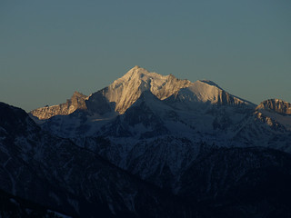 Weisshorn (from Bellwald), VS, Switzerland