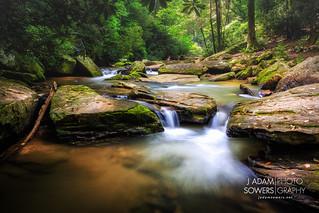 Bradley Falls creek