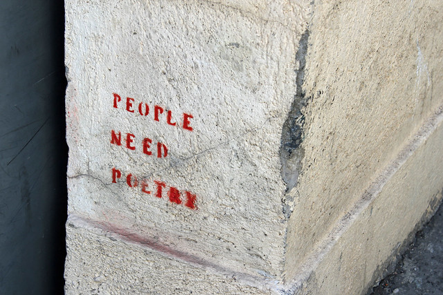 people need poetry