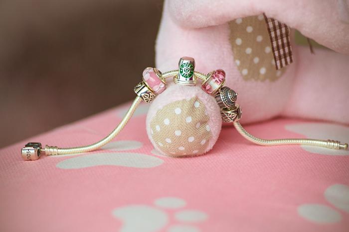 Olga choi fashion blogger myblondegal  Korea Soufeel charm bracelet 925 silver-00251