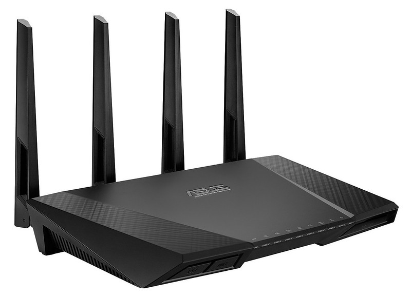 Asus RT-AC87U Router - Front