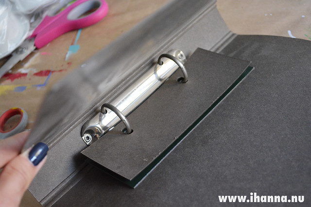 Vintage Ring Binder Mechanism