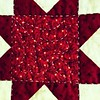 Aug 21 - decorate {I am a quilter; I use small stitches to decorate my work} #fmsphotoaday #decorate #quilter #quilting #handwork #handstitching #star #camera+