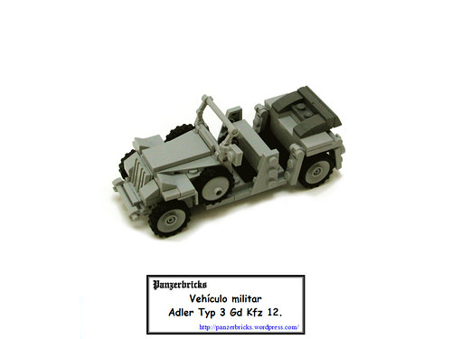 Pkw Adler 3Gd de Panzerbricks