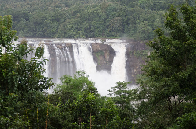 Athirapally - scenic kerala hill stations