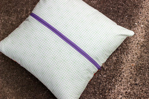 Geometric Bliss Mystery Pillow