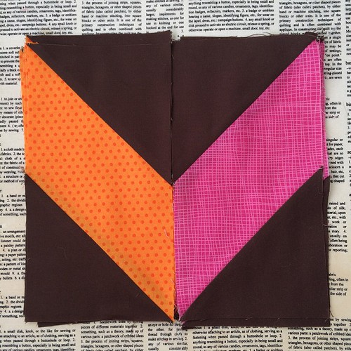 June Minneapolis Modern Quilt Guild Mystery Quilt Blocks complete. Three more months and I'm caught up! #mplsmqg #mplsmqgmysteryquiltalong